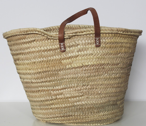 Spanish straw bag